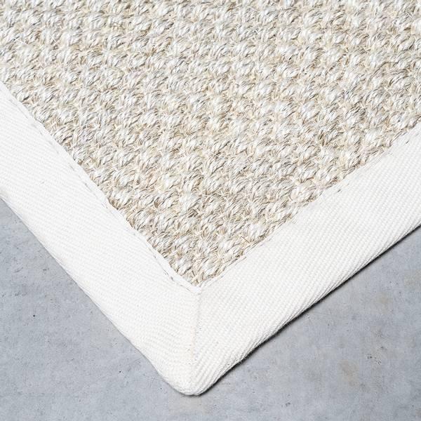 Sisal teppe (160x230 - Sand/krem kant)